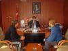 Audienz beim Bürgermeister der Stadt Soma