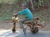 äthiopisches Dreirad
