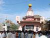 Verabschiedung am Tempel