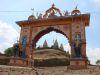 Tempel auf dem Weg nach Mandu