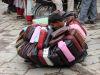 Taschenhändler - vom Angebot erschlagen