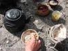 Einladung zum Essen - Tsampa, Yakbutter, Tee