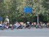 Zweiradfahrer in Chengdu