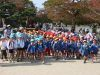 vor dem Schloß in Himeji
