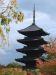 5-stöckige Pagode, Toji Tempel, Kyoto