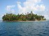 eine der Inseln des San Blas Archipels