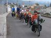 internationale Fahrradstaffel - Denise, Pius, Stefan, Andrew, Mikey