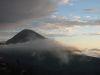 Berglandschaft mit Wolken