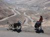 Blick zurück, Auffahrt hinter Nazca