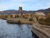 Leben auf Schilfinseln - Uros in Puno/Peru