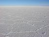 endlos weiß - der Salar de Uyuni