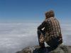 über den Wolken, Cumbre La Campana