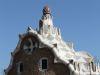 Pförtnerhaus des Park Güell von Antoni Gaudi