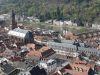 Altstadt von Heidelberg von der Schlossruine